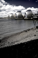 Thames Barrier - Tone Mapped